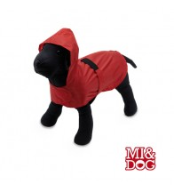 IMPERMEABLE COLOR ROJO