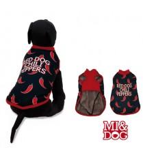 MI&DOG ABRIGO CAPA FELPADO RED DOG