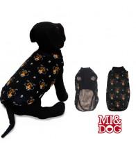 MI&DOG ABRIGO CAPA FELPADO BLACK