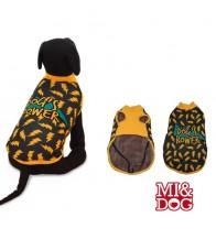 MI&DOG ABRIGO CAPA FELPADO DOGS POWER