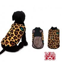 MI&DOG ABRIGO CAPA FELPADO ANIMAL PRINT