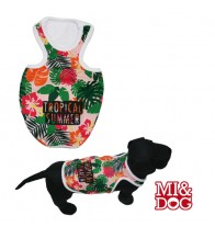 MI&DOG CAMISETA TIRANTES TROPICAL SUMMER