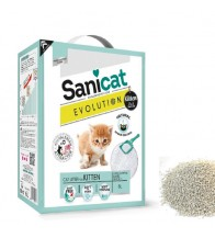 SANICAT BENTONITA FINA BLANCA EVOLUTION KITTEN