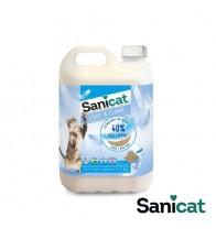 SANICAT BENTONITA FINA LIGHT & CLUMP 5 LT (3.34 kg)