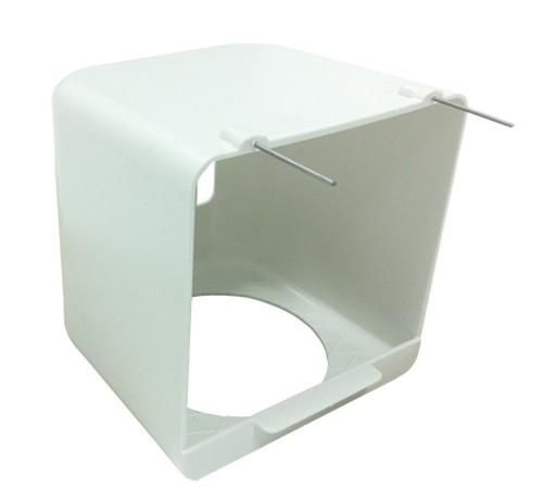 Nido exterior pl stico ganchos de alambre ibicanari for Ganchos de plastico