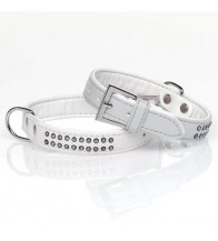 MGZ DIAMANTES 2 FILAS BLANCO COLLAR