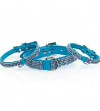 MGZ COLLAR SERIE DIAMOND AZUL
