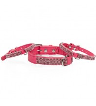 MGZ COLLAR SERIE DIAMOND ROSA