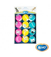 DUVO EXPOSITOR JUGUETE LATEX BOLA TENIS MIX 5 CM