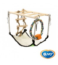 DUVO PUENTE MADERA SUSPENSION 17 x 22 x 15 CM