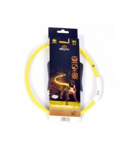 DUVO SEECURITY COLLAR LED NYLON REDONDO AMARILLO