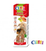 CLIFFI BARRITAS CONEJO Y COBAYA FRUITY 2 UNI ( 110 GRS )