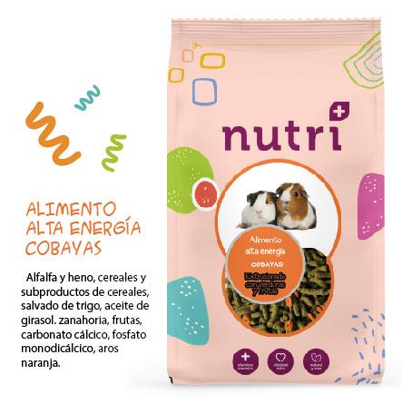 NUTRI ALTA ENERGIA ALIMENTACION COBAYAS